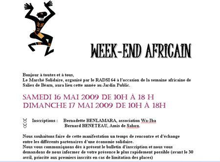 Semaine africaine 2009 1